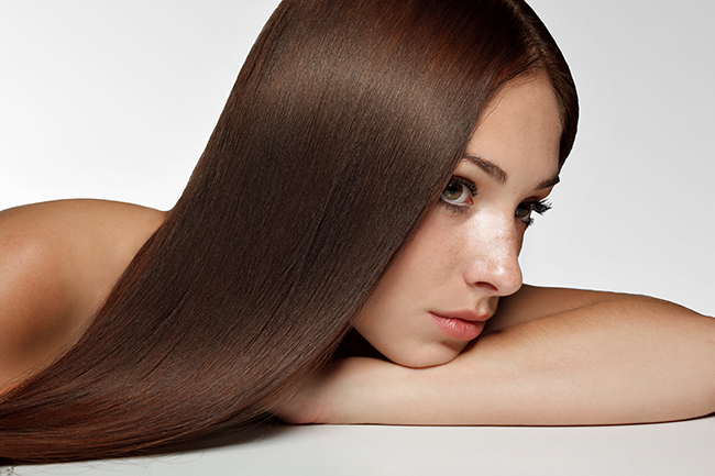 Woman with Long Hair. High quality image.