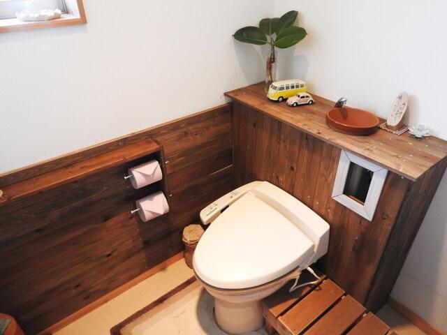 トイレのリフォーム後のイメージ