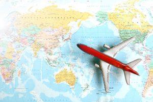 台湾への飛行機は朝便がオススメのイメージ