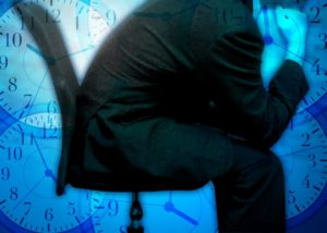 心が休まらないために経営者は孤独を感じるイメージ