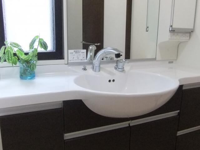 洗面所のリフォームのイメージ