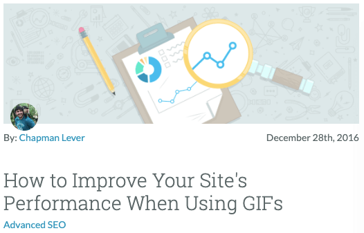 How to Improve Your Site's Performance When Using GIFs