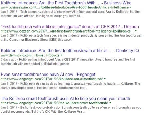 Kolibree-Introduces-Ara-Toothbrush-Artificial-Intelligence