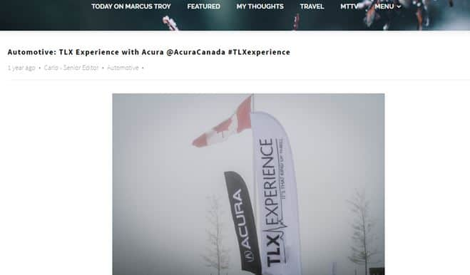 TLXExperience campaign