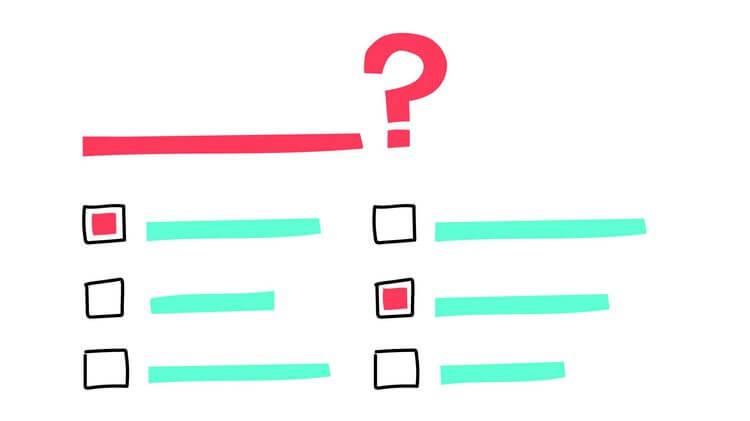 名義尺度の質問